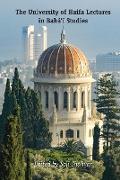 Cover-Bild zu The University of Haifa Lectures in Baháí Studies (eBook) von Shahvar, Soli (Hrsg.)