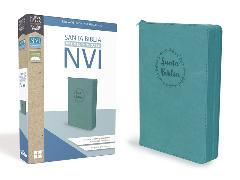 Cover-Bild zu Santa Biblia de Premio y Regalo NVI, Leathersoft, Aqua con Cremallera