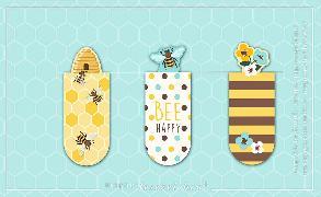 Cover-Bild zu Magnetlesezeichen Bienen VE 6