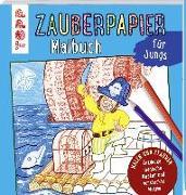 Cover-Bild zu Pautner, Norbert: Zauberpapier Malbuch für Jungs