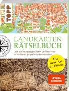 Cover-Bild zu Pautner, Norbert: Landkarten Rätselbuch - die Rätselinnovation
