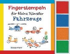Cover-Bild zu Pautner, Norbert: Fingerstempeln für kleine Künstler-Set - Fahrzeuge