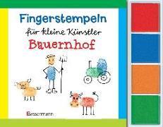 Cover-Bild zu Pautner, Norbert: Fingerstempeln f.kl. Künstler- Bauernhof-Set