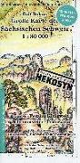 Cover-Bild zu Große Karte der Sächsischen Schweiz 1:30 000. 1:30'000 von Böhm, Rolf