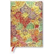 Cover-Bild zu Brokatpapier Südliche Wildblume Midi liniert