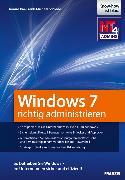 Cover-Bild zu Windows 7 richtig administrieren (eBook) von Schlede, Frank-Michael
