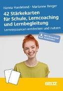 Cover-Bild zu 42 Stärkekarten für Schule, Lerncoaching und Lernbegleitung von Hardeland, Hanna