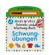 Cover-Bild zu Glücksfisch: Mein erstes Schreib-und Wegwisch-Buch: Schwungübungen von Chapman, Aimee (Illustr.)