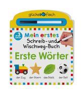 Cover-Bild zu Glücksfisch: Mein erstes Schreib-und Wegwisch-Buch: Erste Wörter von Chapman, Aimee (Illustr.)