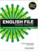Cover-Bild zu English File. Third Edition. Intermediate. Student's Book von Latham-König, Christina