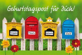 Cover-Bild zu DK Geb Geburtstagspost 51-0705
