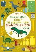 Cover-Bild zu Dinos im Längen- und Gewichte-Rausch von Crivellini, Mattia