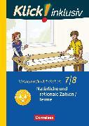 Cover-Bild zu Klick! inklusiv, Mathematik, 7./8. Schuljahr, Natürliche und rationale Zahlen / Terme, Arbeitsheft 1 von Jenert, Elisabeth