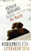 Cover-Bild zu Modiano, Patrick: Gräser der Nacht (eBook)