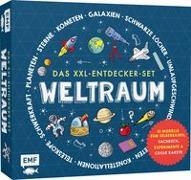 Cover-Bild zu Das XXL-Entdecker-Set - Weltraum: Mit 10 Modellen zum Selberbauen, Sachbuch, Experimenten und cooler Rakete von Colson, Rob
