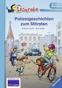 Cover-Bild zu Polizeigeschichten zum Mitraten - Leserabe 2. Klasse - Erstlesebuch für Kinder ab 7 Jahren von Lenk, Fabian
