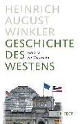Cover-Bild zu Geschichte des Westens von Winkler, Heinrich August