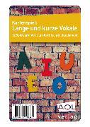 Cover-Bild zu Kartenspiel: Lange und kurze Vokale von Livonius, Uta