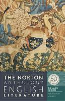 Cover-Bild zu Greenblatt, Stephen (Hrsg.): The Norton Anthology of English Literature, Volume 1: The Major Authors