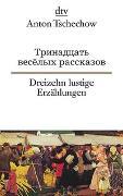 Cover-Bild zu Dreizehn lustige Erzählungen von Tschechow, Anton