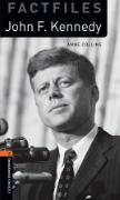 Cover-Bild zu Oxford Bookworms Library Factfiles: Level 2:: John F. Kennedy audio CD pack von Collins, Anne