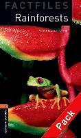 Cover-Bild zu Oxford Bookworms Library Factfiles: Level 2:: Rainforests audio CD pack von Akinyemi, Rowena