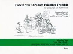 Cover-Bild zu Fabeln von Abraham Emanuel Fröhlich von Thomke, Hellmut (Hrsg.)