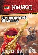 Cover-Bild zu LEGO® NINJAGO® - Mein ninjastarker Rätselblock
