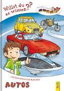 Cover-Bild zu LESEZUG/Willst du es wissen? Ein Sach-Comic-Lese-Buch über Autos von Holzinger, Michaela