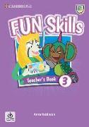 Cover-Bild zu Fun Skills Level 3 Teacher's Book with Audio Download von Robinson, Anne