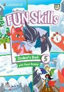 Cover-Bild zu Fun Skills Level 5 Student's Book with Home Booklet and Downloadable Audio von Kelly, Bridget