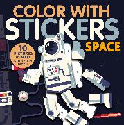 Cover-Bild zu Marx, Jonny: Color with Stickers: Space
