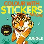 Cover-Bild zu Marx, Jonny: Color with Stickers: Jungle