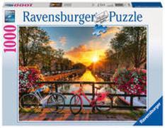 Cover-Bild zu Ravensburger Puzzle 1000 Teile Fahrräder in Amsterdam - Farbenfrohes Puzzle für Erwachsene und Kinder in bewährter Ravensburger Qualität
