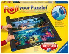 Cover-Bild zu Ravensburger Roll your Puzzle - Puzzlematte für Puzzles mit bis zu 1000 Teilen, Puzzleunterlage zum Rollen, Praktisches Zubehör zur Aufbewahrung von Puzzles