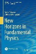 Cover-Bild zu New Horizons in Fundamental Physics (eBook) von Schramm, Stefan (Hrsg.)
