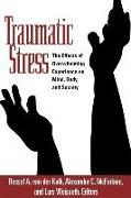 Cover-Bild zu van der Kolk, Bessel A. (Hrsg.): Traumatic Stress
