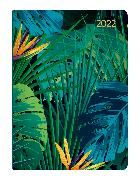 Cover-Bild zu Mini-Buchkalender Style Jungle 2022 - Taschen-Kalender A6 - Dschungel - Day By Day - 352 Seiten - Notiz-Buch - Alpha Edition von ALPHA EDITION (Hrsg.)