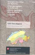 Cover-Bild zu Geologische Atlas der Schweiz 126. Oberalppass. 1:25'000