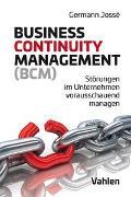 Cover-Bild zu Business Continuity Management (BCM) von Jossé, Germann