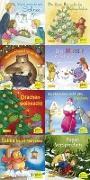 Cover-Bild zu Pixi-Weihnachts-Box 35: Kling, Pixi, klingelingeling (8x8 Exemplare) von diverse