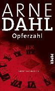 Cover-Bild zu Opferzahl (eBook) von Dahl, Arne
