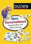 Cover-Bild zu Mein Vorschulblock: Konzentration und Wahrnehmung von Braun, Christina
