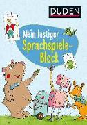Cover-Bild zu Mein lustiger Sprachspiele-Block von Weller-Essers, Andrea