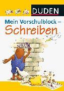 Cover-Bild zu Mein Vorschulblock - Schreiben von Hilgert, Gabie (Illustr.)