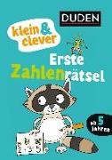 Cover-Bild zu klein & clever: Erste Zahlenrätsel von Weller-Essers, Andrea