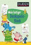 Cover-Bild zu Mein lustiger Denkspiele-Block von Weller-Essers, Andrea