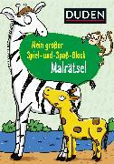 Cover-Bild zu Mein großer Spiel-und Spaßblock: Malrätsel von Weller-Essers, Andrea