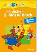 Cover-Bild zu LERNSTERN Mein dicker 2.-Klasse-Block Mathe & Deutsch von Fuchs, Birgit