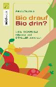 Cover-Bild zu Bio drauf - Bio drin? (eBook) von Sabersky, Annette